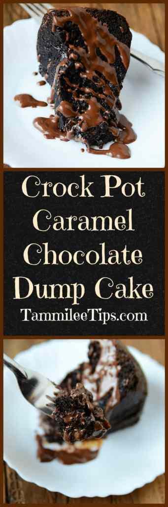 Chocolate Cherry Dump Cake With Chocolate Chips