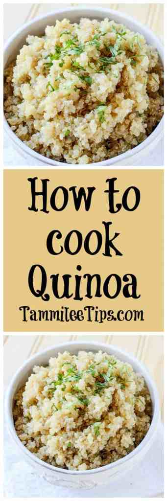 How to cook Quinoa with a Crock Pot! Let the slow cooker do all the work for you! You end up with a great side dish that is perfect for salads or any recipe. Easily adapted to use chicken stock or any other stock depending on your preference. Can be vegetarian or vegan!