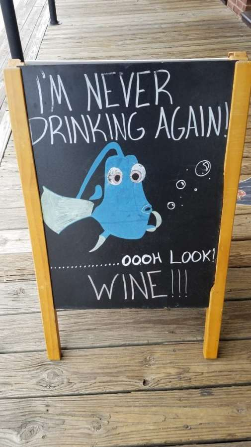 Oooh I will never drink wine again