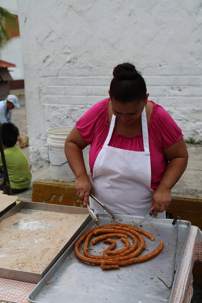 Puerto Vallarta Churro Stand