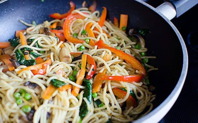 Super Easy Lo Mein Recipe