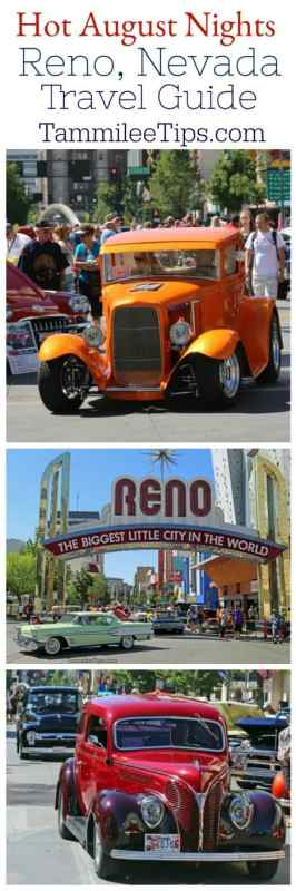 Hot August Nights Reno Nevada Travel Guide! Classic Cars, great music, travel, and fun in the heart of Reno, Nevada. #classiccars #reno #nevada #travel #cars