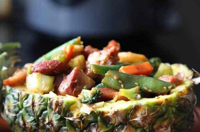 Slow Cooker Crock Pot Teriyaki Chicken and Veggies Recipe