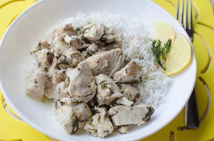 Crock Pot Lemon Chicken Recipe