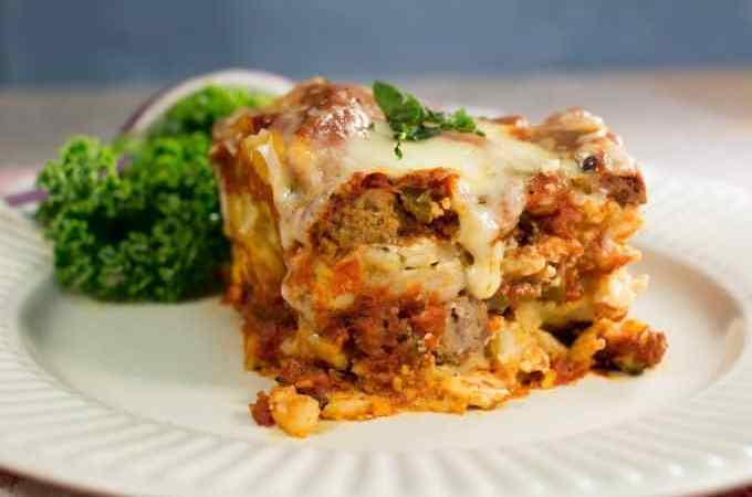 Easy Slow Cooker Crock Pot Lasagna Recipe