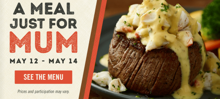 Treat your Mom for Mother's Day at Outback Steakhouse! - Tammilee Tips
