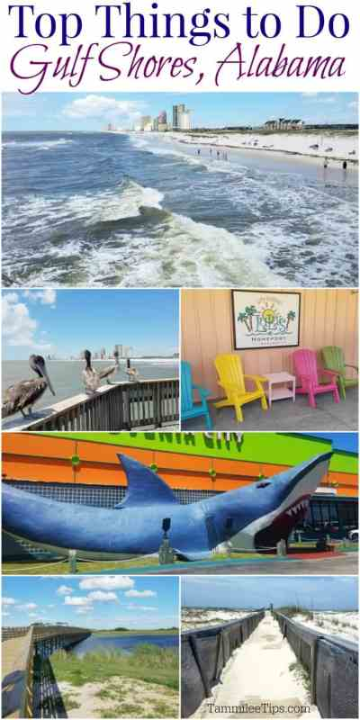 Top Things to do in Gulf Shores Alabama! Fun for the entire family while on vacation. From the beach to where to dine we have it covered for you! #travel #gulfshores #Alabama