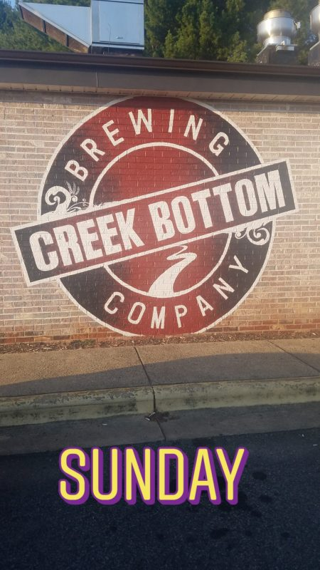 Creek Bottoms Brewery Mount Airy North Carolina