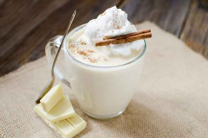 Slow Cooker Crock Pot White Hot Chocolate Recipe