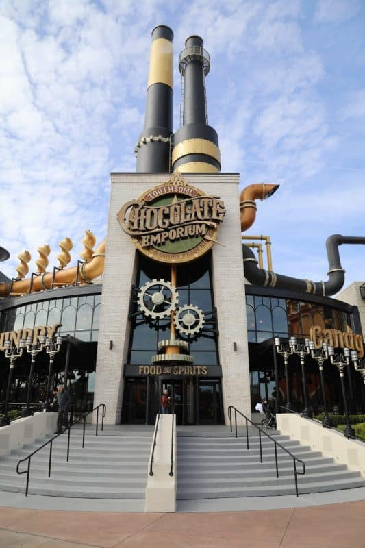 Toothsome Chocolate Emporium Universal Orlando Resort City Walk