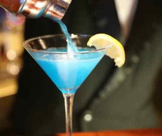 Sea Blue Martini Recipe