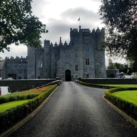 Kilkea Castle in County Kildare, Ireland