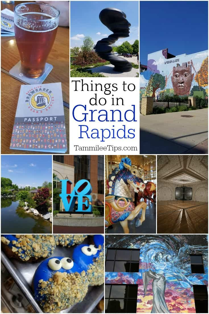 Things to do in Grand Rapids MI including Frederik Meijer Gardens, Childrens museum, contemporary art, public art, murals, breweries and so much more! #grandrapids #michigan #thingstodo #travel
