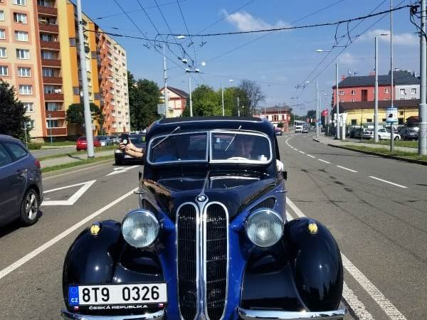 Historic Car tour of Ostrava, Czech Republic