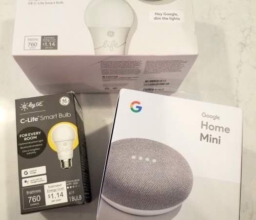 Google Smart Light Starter Kit with Google Assistant from Best Buy!