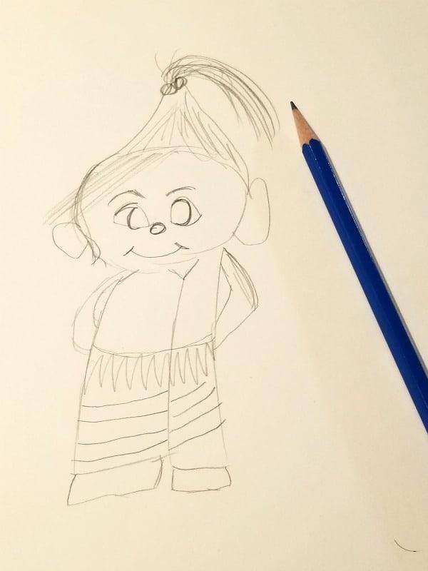 Drawing Vanellope Von Schweetz With Mark Henn Tammilee Tips