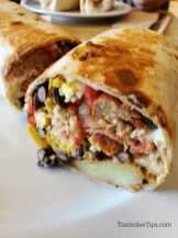 Breakfast burrito Vegan Love Cafe Restaurant Oakhurst