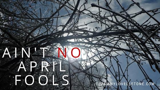 Ain't no april fools