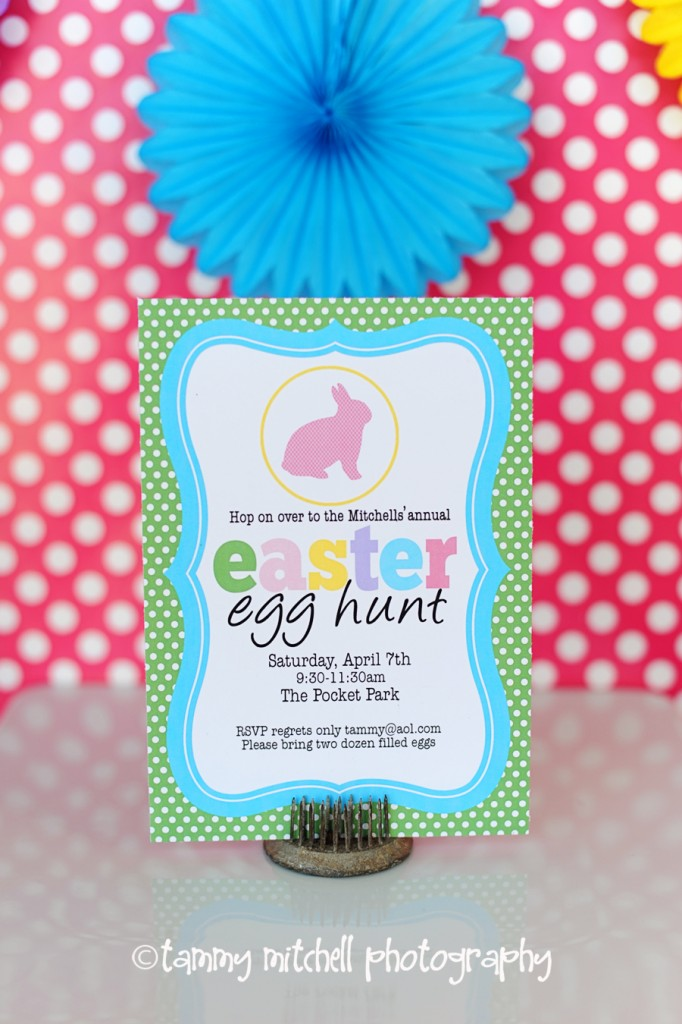 Easter Egg Hunt Party Printable Pack by Tammy Mitchell