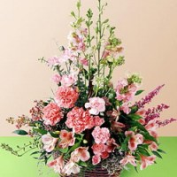 Exquisite Memorial Basket from Tammys Floral