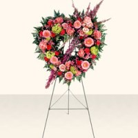 Heart Shaped Wreath from Tammys Floral