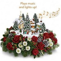 Thomas Kincaids Carolers from Tammys Floral