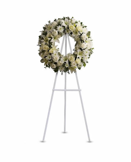 Serenity Wreath- T239-3A