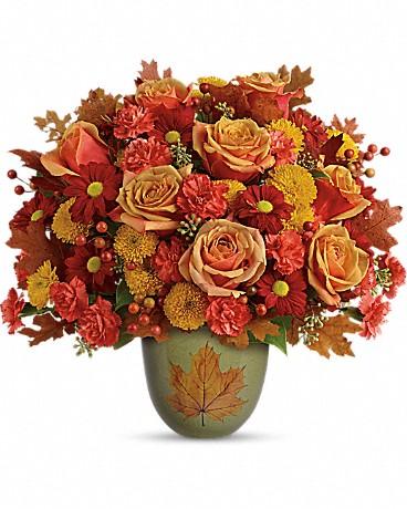 Heart of Fall Bouquet - T16T300A