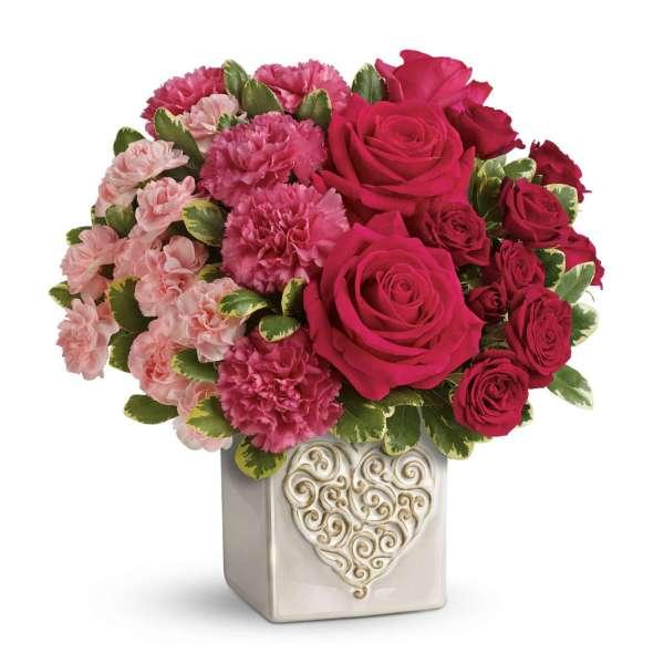 T15M400C- Fill My Heart Bouquet