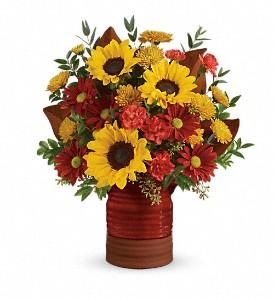 T17T210C-Sunshine Crock Bouquet