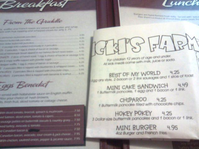 nickis-menu