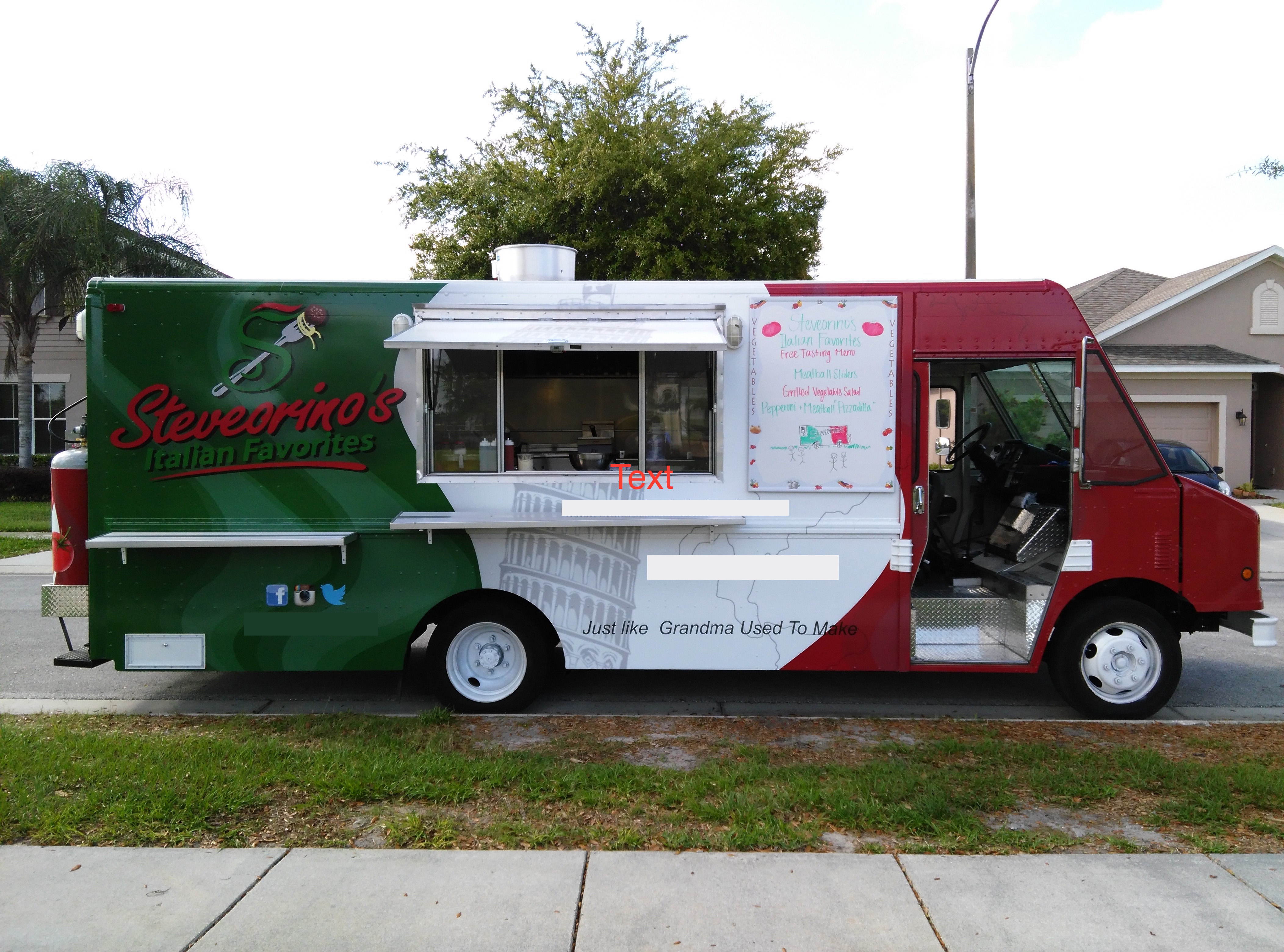 Chevy Food 2010 Truck P30