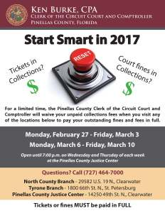 Start Smart in 2017 flyer