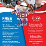 Tampa Red White & Blue Festival returns to Cotanchobee Park in Channelside this July 4th!