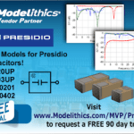 Four New Presidio Capacitor Models Validated through mm-Wave Now Available in Modelithics® Libraries