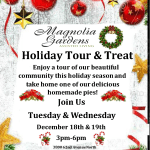 'Tis the season to be jolly at Magnolia Gardens!