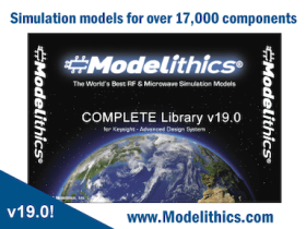 Modelithics Releases the COMPLETE Library v19 0 for Keysight