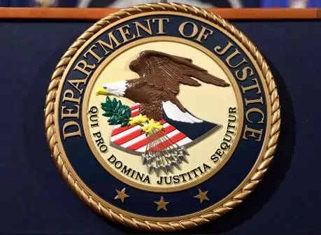 Department of Justice Arrested