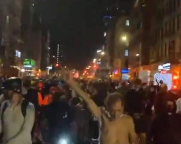 New York City Protest LIVE