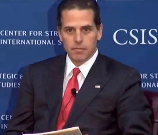 Hunter Biden Child Trafficking Report Homeland Security