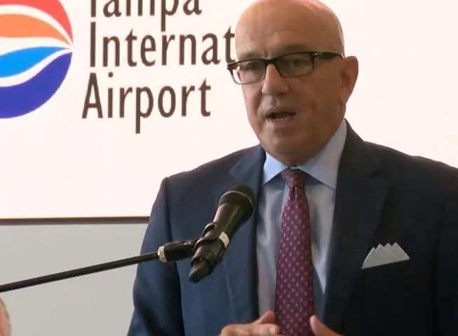 Joe Lopano Tampa Airport CEO