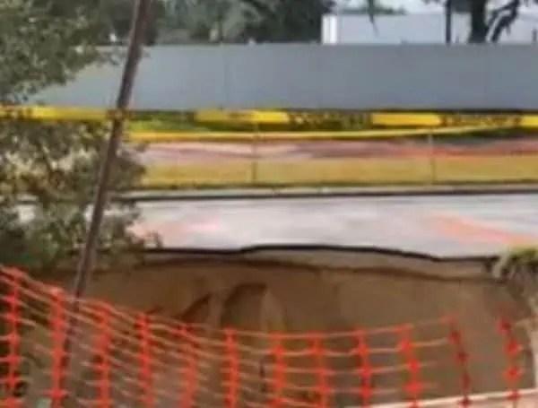pasco county Florida sinkhole