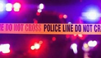 police line shooting robbery