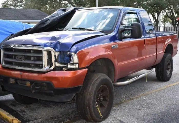 truck in hit and run