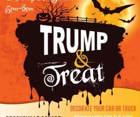Brooksville Florida Halloween Trump and Treat