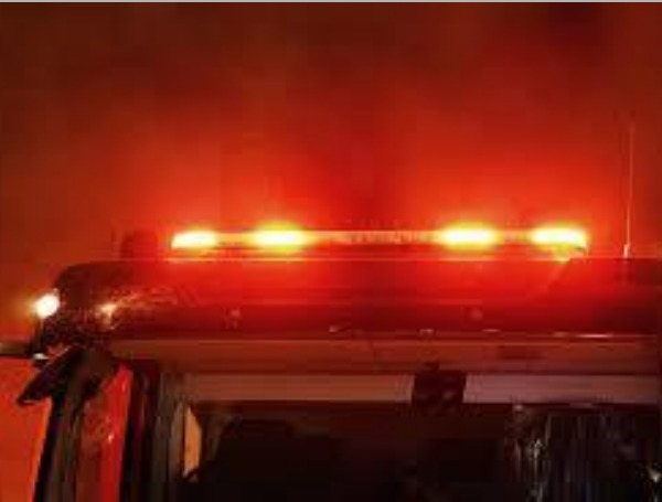 Fire Truck Red Lights Emergency