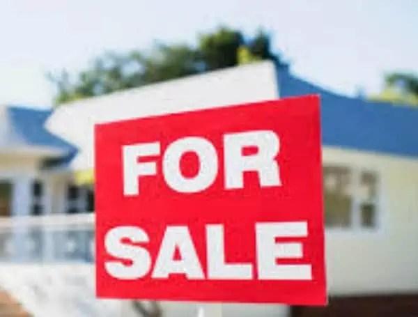 home sales dip