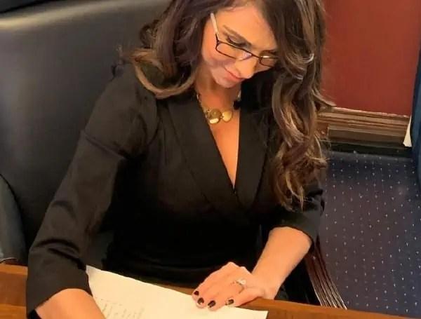 Boebert Signing Bill