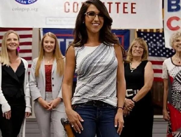 Congresswoman keeps gun