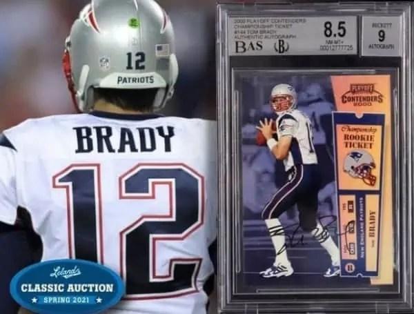 Tom Brady Buccaneers Rookie Card